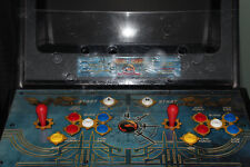 Arcade mortal kombat 4 Cabinet Original scratched Lexan Overlay For CPO