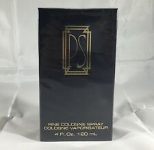 PS By Paul Sebastian 4.0 Oz Fine Cologne Spray NIB Sealed Cologne For Men