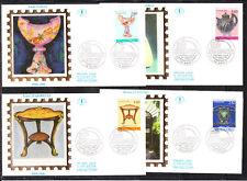 enveloppe 1er jour  les 4  art nouveau  54  Nancy      1994