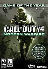 Call of Duty 4: Modern Warfare Game of the Year Edition - PC