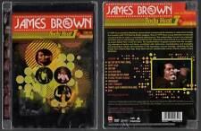 """JAMES BROWN """"Body Heat - Live In Monterey"""" (DVD) 1991 NEUF"""