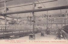 VAL-DES-BOIS entreprise HARMEL filature de laine intérieur des renvideurs