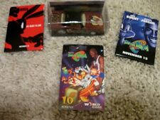 Michael Jordan Looney Tunes phone card diecast car buttons