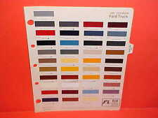 1981 FORD F-150 250 350 PICKUP TRUCK BRONCO COURIER ECONOLINE VAN PAINT CHIPS 81