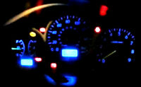Subaru Impreza WRX My99 My00 Blue LED Dash Light Kit