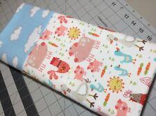 1 New Standard Size Flannel Handmade Pillowcase Fun Farm Animals Pig Duck Goose