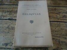 A. COLLIGNON - RELIQVIAE VOEUX DU PAON ARCHOMBROTE THEOPOMPE THEATRE ROMANTIQUE