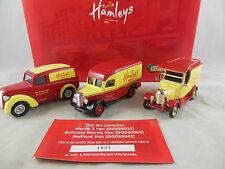 LLedo HM1003 Hamleys Limited Edition Morris Z, Bullnose Morris & Bedford Vans