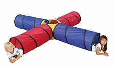 4 Way Pop Up Tunnel Tube Baby Toys Crawl Fun Play GIFT for Toddler Kids Boy Girl