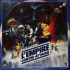 LASERDISC - L'EMPIRE CONTRE-ATTAQUE - STAR WARS - VF PAL - 1ERE VERSION