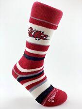 Official Ncaa College South Carolina Gamecocks Soft Stripe Crew Socks Medium