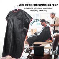 Salon Hairdressing Gown Dye Styling Cutting Shampoo Hair Cape Apron Cloth N3N7