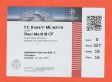Orig.Ticket  Champions League  2017/18  BAYERN MÜNCHEN - REAL MADRID  1/2 FINALE
