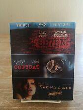 Se7en/Copycat/Taking Lives (Blu-ray Disc, 2012, 3-Disc Set) with Slipcover