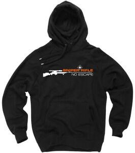Sniper Rifle CS Gewehr Kapuzenpulli Sweatshirt Hoodie Kapuzenpullover Gamer Fun
