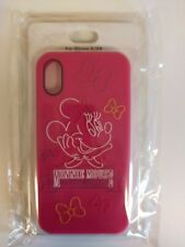 Disney Store Japan iPhone X/XS Soft Minnie Mouse pink  Case Cover