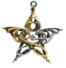 Draca Stella Pendant for Good Fortune ~ Carpe Noctum by Anne Stokes