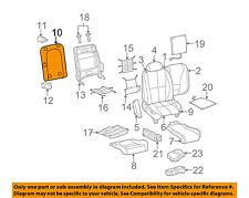 JAGUAR OEM 03-08 S-Type 04 XJ  Front Seat-Back Panel Cover XR836744ADX Sand