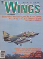 Wings Magazine (October 1985) (Douglas A-4 Skyhawk, Luftwaffe Ace Marseille)