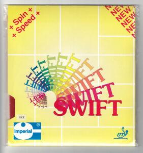 Tischtennisbelag IMPERIAL Swift rot, Schwammstärke max.