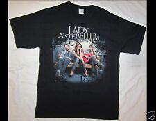 Lady Antebellum Size Large Black T-Shirt (A)