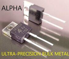 2 Alpha Bulk Metal Foil Ultra Precision 1 Ohm, 8W, 0.5% Power Resistors # 1R000D