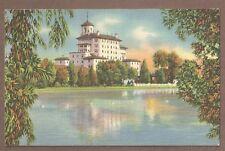 VINTAGE POSTCARD 1946 BROADMOOR HOTEL,PIKES PEAK REGION COLORADO