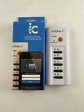 iClicker Plus + Student Classroom Response Remote Polling Tested Works
