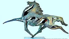 Exclusivo Artista Escultura De Bronce Firmado Le Bao Figura