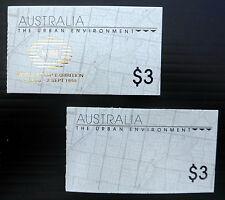 AUSTRALIA 1989 Booklets As Described FP7689