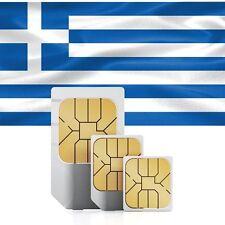 Griechenland Daten SIM + 5 GB für 30 Tage