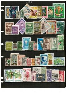 497 Latin America stamps mostly all diff.  Featuring better El Salvador
