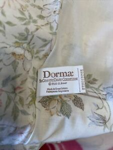 Vintage Dorma Country Diary Rose & Honeysuckle King Duvet Cover & Valance