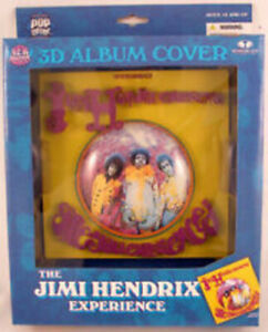 McFarlane 3D Music Album Art Jimi Hendrix Are You Experienced Brand New