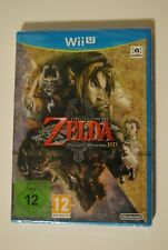 ZELDA TWILIGHT PRINCESS HD  CONSOLE NINTENDO WII U NEW NEUF SCELLE