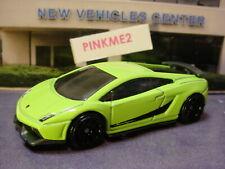 2019 Exotics Lamborghini Gallardo LP 570-4 Superleggera Verde Loose Hot Wheels