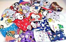 3 pack MEGA Mix HANDMADE FACE COVER MASK Adult teen Snoopy Peanuts Charlie Brown