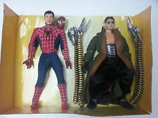 "'04 Marvel Spider-Man Movie 12"" Doc Ock 2Pk Super Poseable 1/6 Hot Toy Biz Fig"
