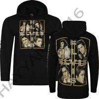 Elvis Hoodie King  Forever  Both Side Print & On Sleeves Sparkle Design