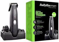 BaByliss For Men Precision Beard Trimmer Clipper Cutter Grooming Set Kit 7107U