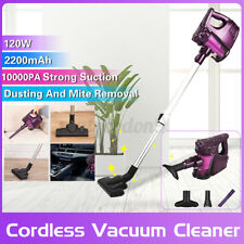10000Pa Cordless Stick Handheld Vacuum Cleaner Portable 2 in 1 120W 700Ml Dusbox