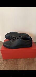 Hugo Boss Zero Tenn Gr 42 ⚠️NEU⚠️ Dark Blue Schuhe Sneaker