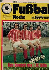 Fußball Woche 18/1974,Bundesliga,FC AUGSBURG POSTER,Finale WM 66,
