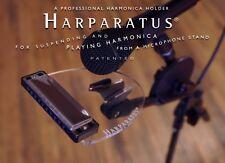 Harparatus Professional Mic Stand Harp Harmonica Holder - The Original! est 2001
