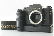 【Exc+5】Contax RTS 35mm SLR w/ Real time winder W-3 ,Strap From JAPAN #209