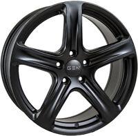 "Alloy Wheels 18"" GEN2 Cygnus Black Matt For Mitsubishi Eclipse Cross 17-19"