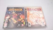 PACK 2:DUKE NUKEM FOREVER y RED FACTION GUERRILLA PLAYSTATION 3 PS3 PAL ESPAÑA