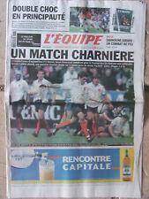L'Equipe du 8/3/2003 - Tournoi : avant Irlande-France - Sahnoune-Girard -