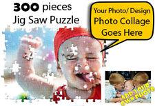 🏅300 pieces BIG Personalised Jigsaw Puzzle Birthday Anniversary Gift Wedding