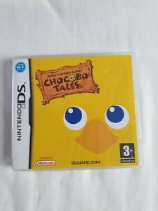 Final Fantasy Fables: Chocobo Tales - Nintendo DS - Complete with Manual
